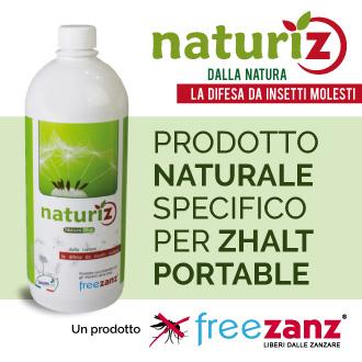 Prodotto naturale contro insetti e zanzare