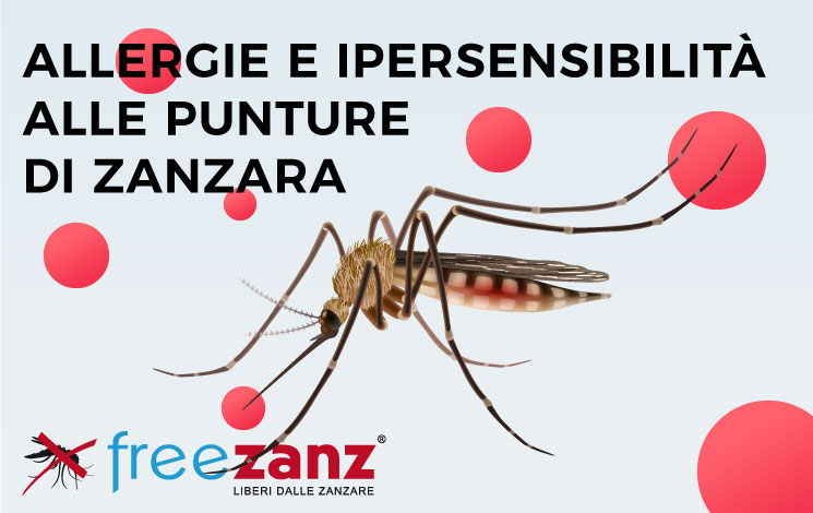 Allergie e ipersensibilità alle punture di zanzara