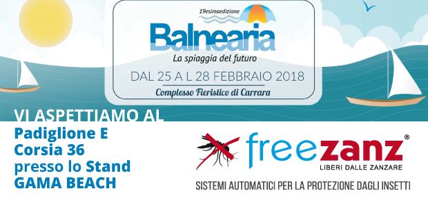 Balnearia 2018 Carrara Fiere