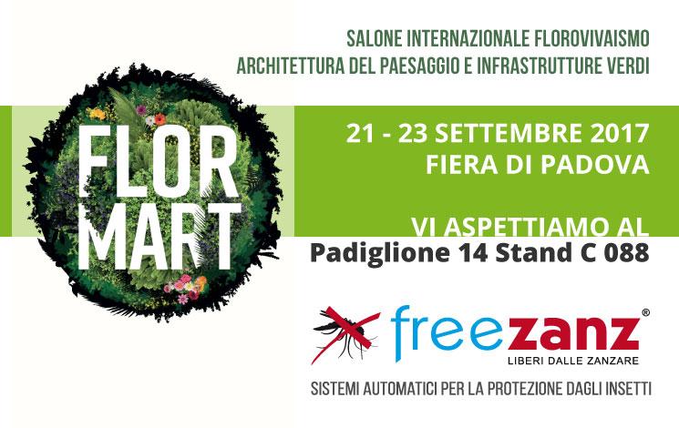 FLORMART 2017 Fiera Padova 21-23 Settembre 2017