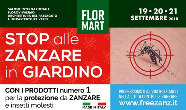FLORMART 2018 Fiera Padova 19-21 Settembre 2018