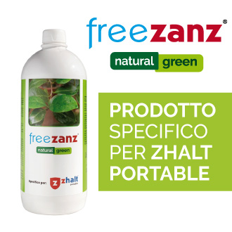 Freezanz Natural Green prodotto naturale