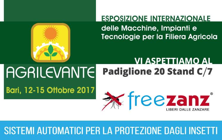 Siamo a AGRILEVANTE 2017 a Bari 12-15 Ottobre