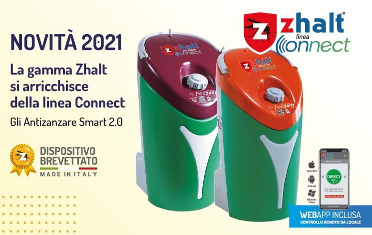 La linea di antizanzare Zhalt diventa anche Connect!
