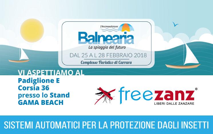 Balnearia 2018, 25-28 Febbraio, Carrara Fiere