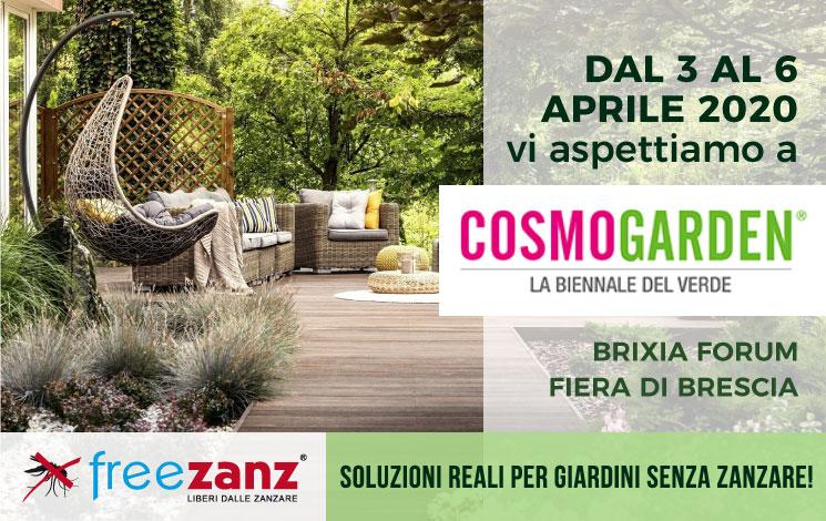 Cosmogarden 2020, 3-6 Aprile