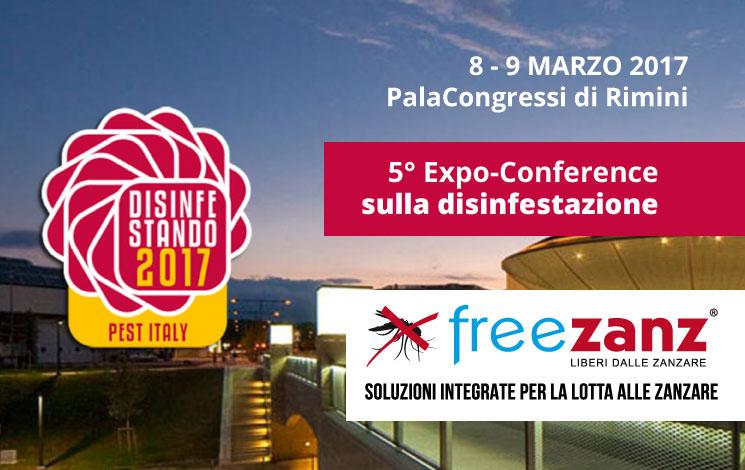 Vieni a trovarci a Disinfestando 2017, Rimini