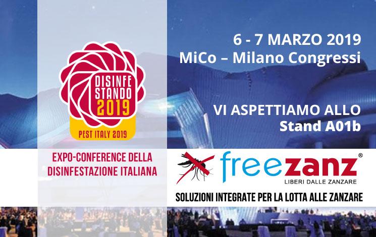 Disinfestando 2019, 6 e 7 Marzo, Milano