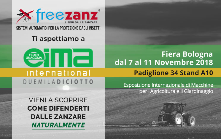 EIMA International 2018, Bologna, 7-11 Novembre