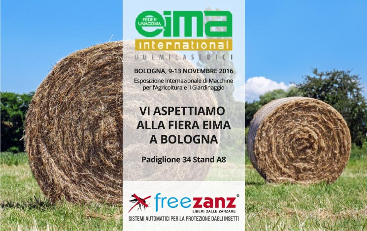 EIMA International 2016 a Bologna 9-13 Novembre