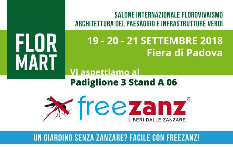 Siamo a FLORMART 2018 a Padova 19-21 Settembre