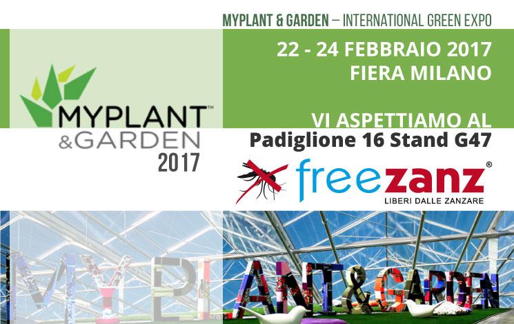 Vieni a trovarci a MyPlant & Garden 2017, Fiera Milano