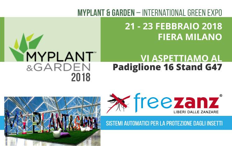 MyPlant & Garden 2018, 21-23 Febbraio