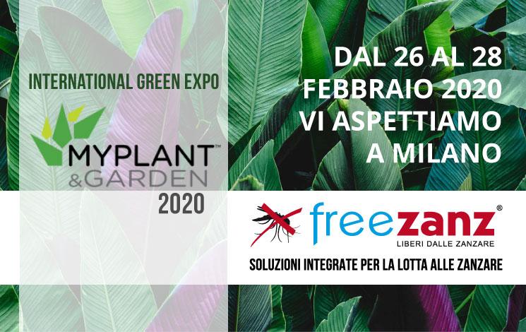 MyPlant & Garden 2020, 26-28 Febbraio