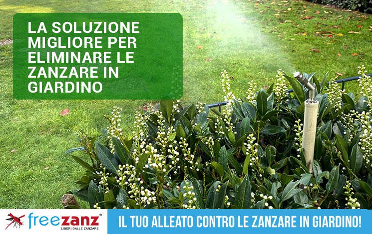 Nebulizzatore antizanzare: la soluzione migliore per eliminare le zanzare in giardino