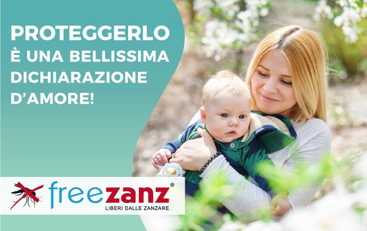 Come proteggi i tuoi figli dalle zanzare?