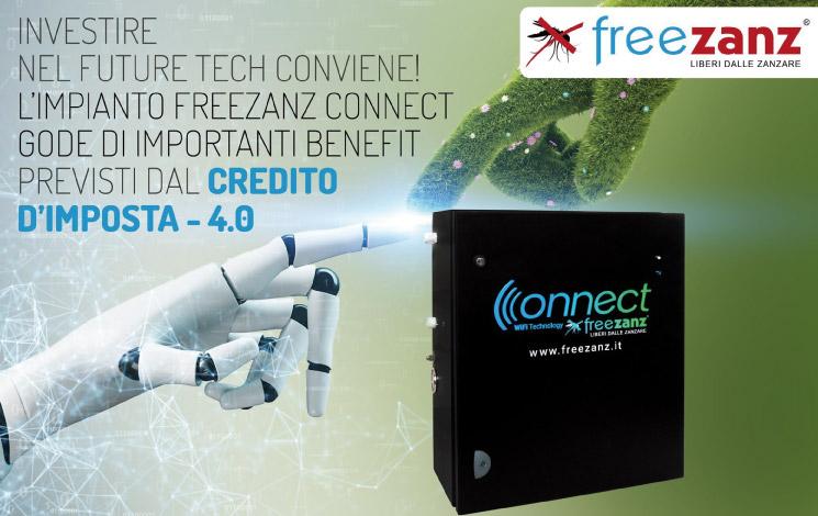 Un Credito d'Imposta per l'acquisto della Freezanz Connect!