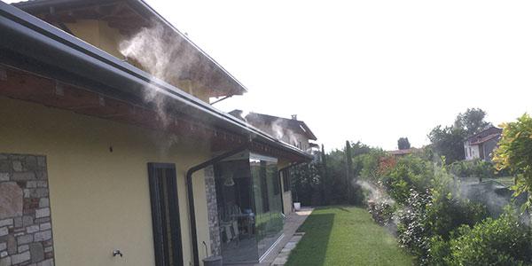 Residenza privata con problema di vespe nel sottotetto